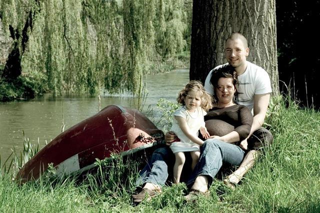 Family in a Garden
