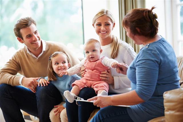 Talking family