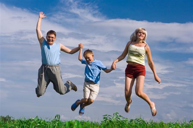 Jump Happy Family