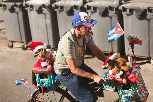 Street Performer In Havana Cuba