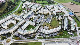 Aerial View Banska Bystrica