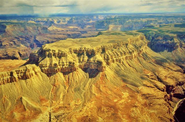 Grand Canyon Air Tour Mesa And Ravine