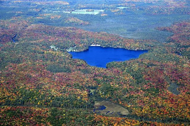 Muskoka Autumn Aerial
