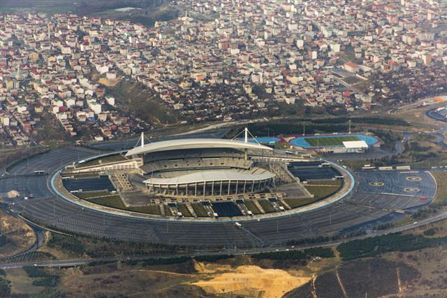 Olympic Football Stadium At European