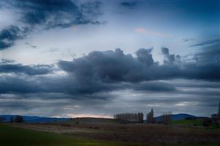 Dramatic Sky Dark Clouds