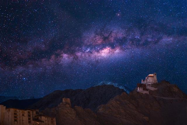 Buddhist Monastery Centre In Leh Ladakh
