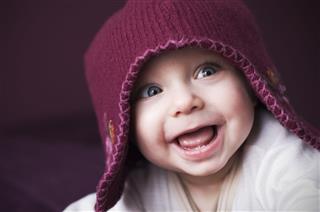 Happy Purple Person