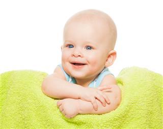 Happy Cute Little Baby