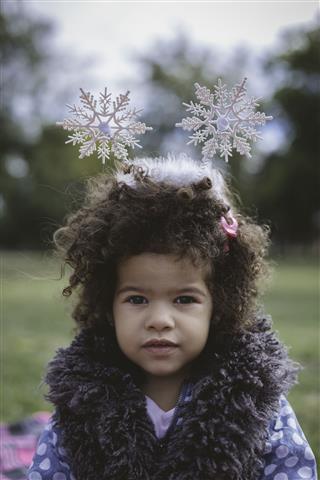 Cute African Descendant Baby Girl