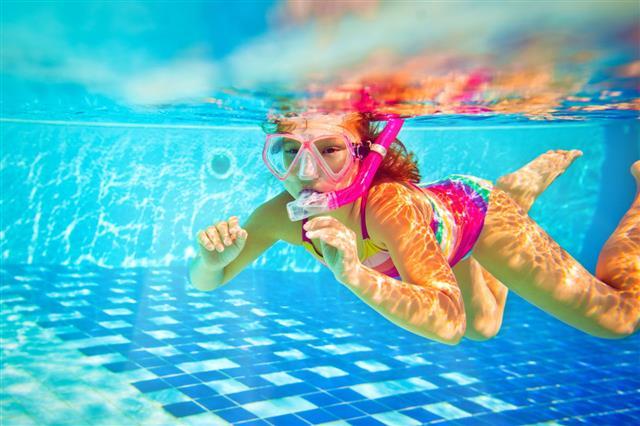Snorkeling Underwater
