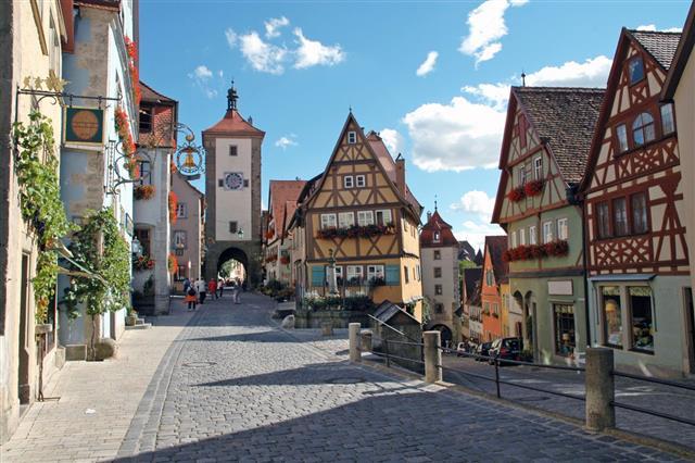 German Half Timber Village