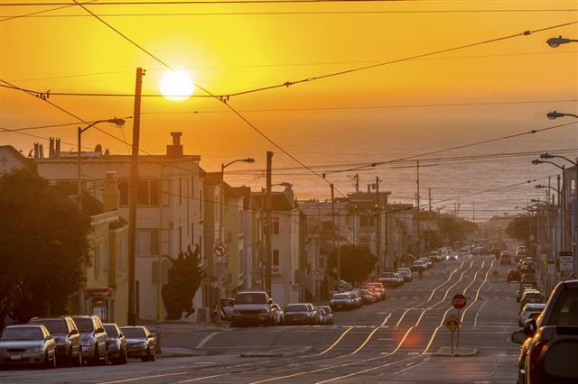 San Francisco Toward The Sea