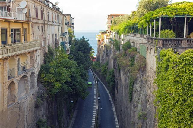 Southern Italian Cities Positano Troiano