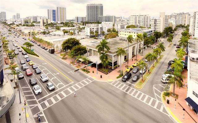 Crossroad Miami Aerial View