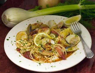 Seafood Pasta