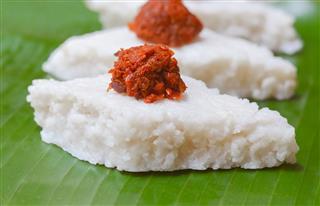 Sri Lankan Kiribath The Milk Rice