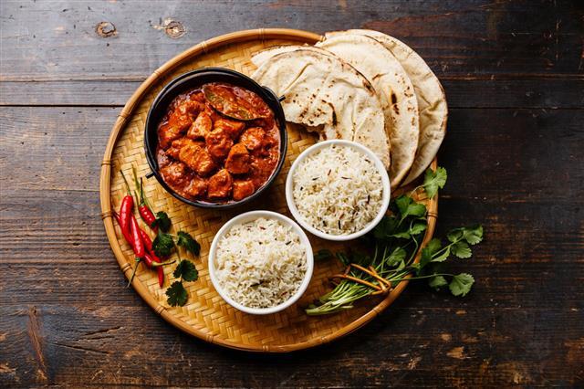 Chicken Tikka Spicy Curry