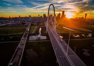 Hill Bridge Dallas Texas