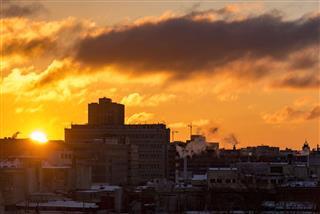 Sunrise Colorful Sky