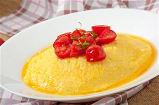 Polenta Italian Traditional Food