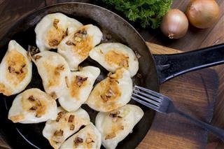Homemade Pierogi Dumplings