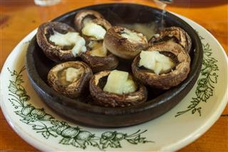 Georgian Mushroom Dish