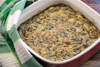 Spinach Square Casserole