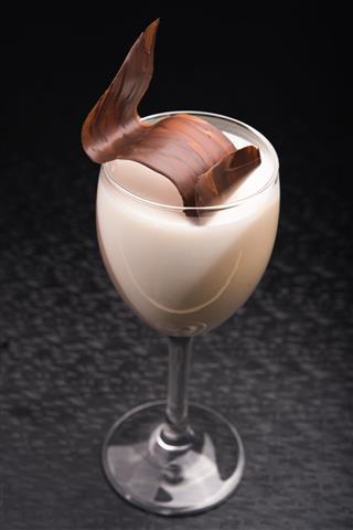 Milk Shake With Chocolate
