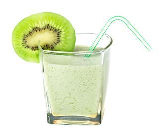 Milk Shake With Kiwi