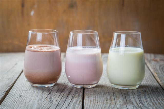 Types Of Milk Shakes