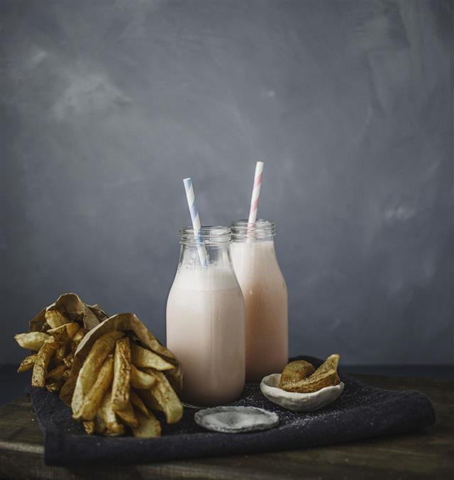 Homemade Milk Shake
