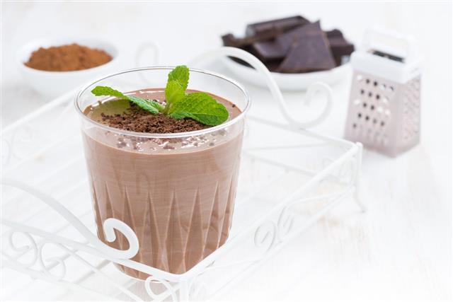 eggnog With Chocolate