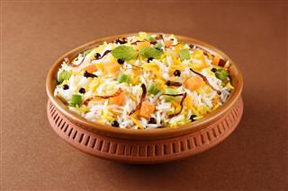 Veg Biryani Basmati Rice