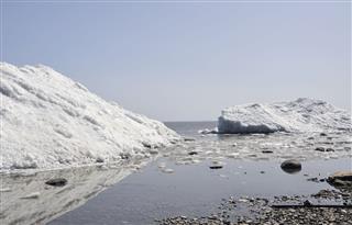 Iceberg On Ocean