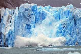 Dawes Glacier Calving
