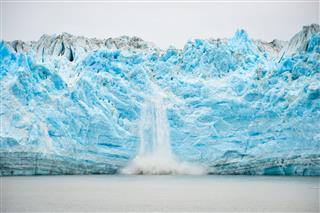 Glacier Calving Natural Phenomenon