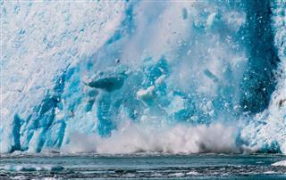 Northwestern Glacier Calving