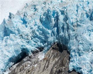 Blue Glacier Melting