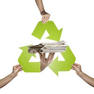 Newspaper Recycling