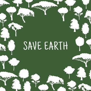 Save Nature Symbol