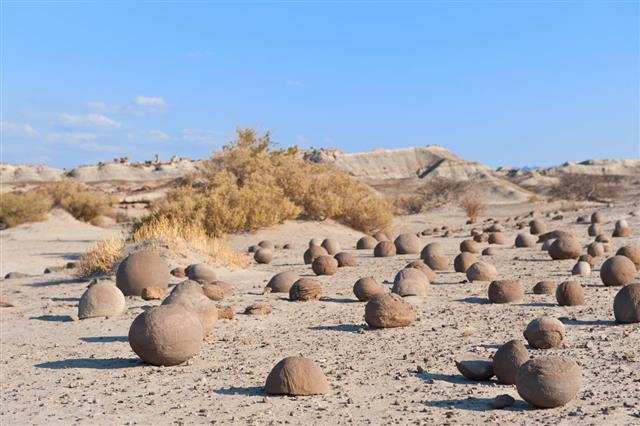 Stone Desert In Ischigualasto Argentina