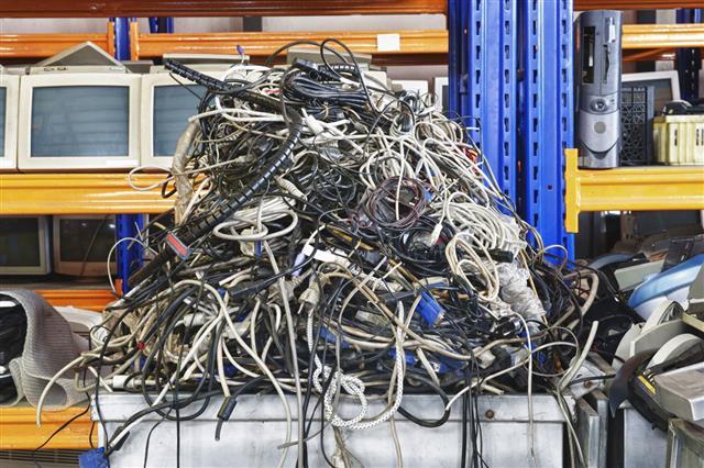 E Waste Computer Cables