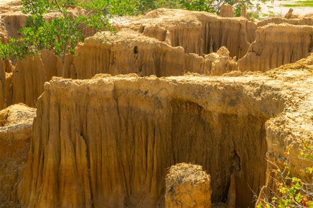 Cliff Soil