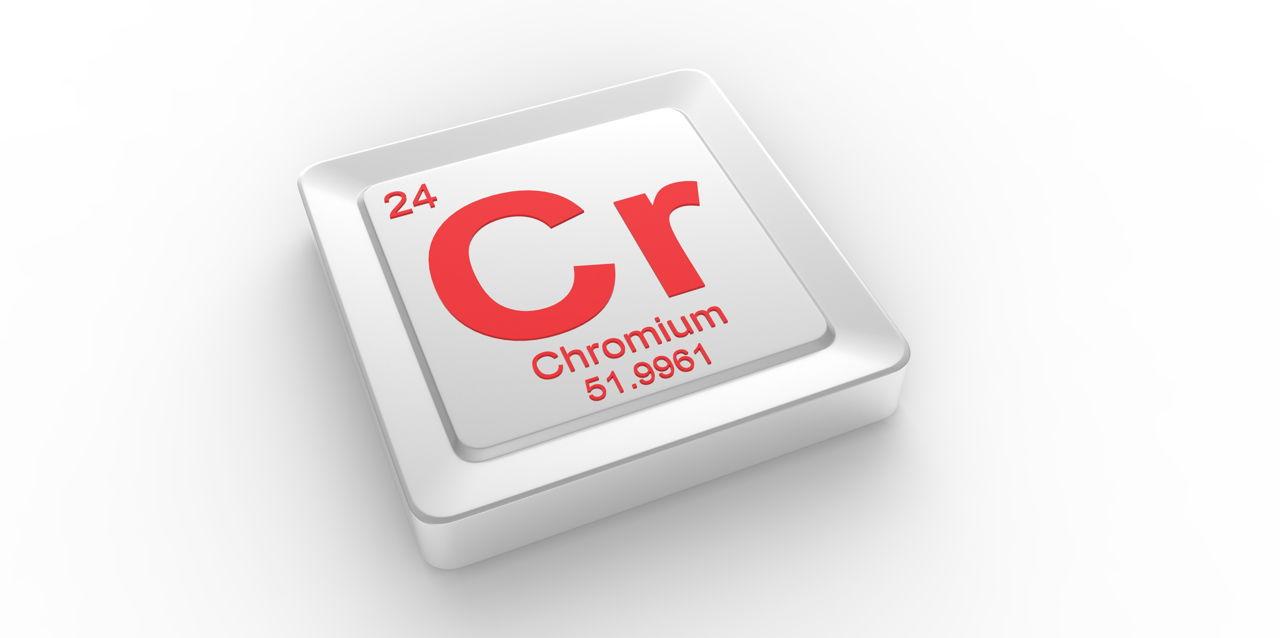 Non ferrous metals list cr symbol for chromium chemical element buycottarizona Image collections