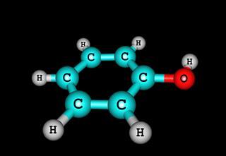 Phenol Molecular Structure