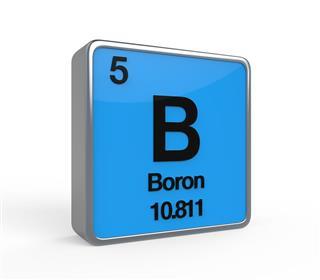 Boron Element Periodic Table