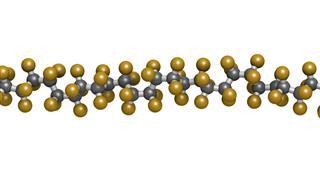 Polytetrafluoroethylene Polymer Chemical Structure