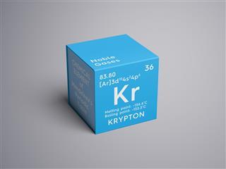 Krypton Element Of Mendeleevs Periodic Table