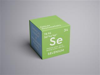 Selenium Element Of Mendeleevs Periodic Table