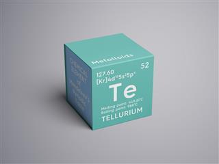 Tellurium Element Of Mendeleevs Periodic Table